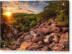 Mina Sauk Falls Acrylic Print