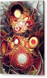Mind Meld Acrylic Print by Anastasiya Malakhova