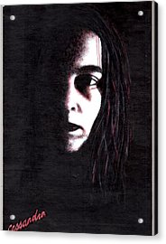 Mindbleeding Acrylic Print