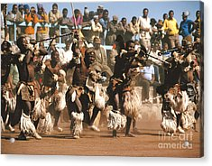 Mine Dancers South Africa Acrylic Print by Susan McCartney