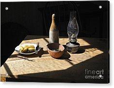 Miner's Dinner Acrylic Print