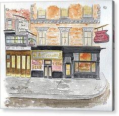 Minetta Tavern  Greenwich Village Acrylic Print