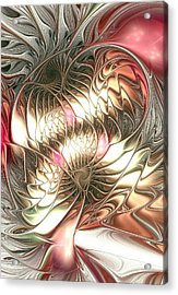 Mingled Acrylic Print