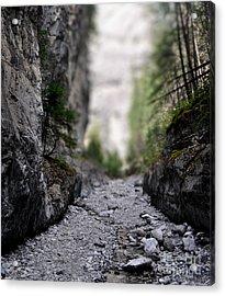 Mini Canyon Acrylic Print
