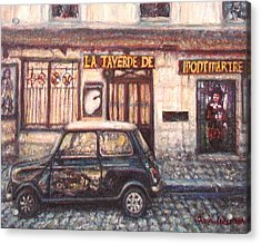 Mini De Montmartre Acrylic Print