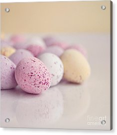 Mini Easter Eggs Acrylic Print by Lyn Randle