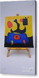 Mini Miro Acrylic Print by Diana Bursztein