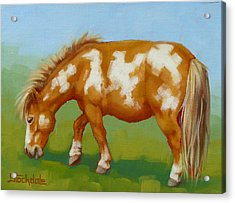 Acrylic Print featuring the painting Mini Paint Mini Painting by Margaret Stockdale