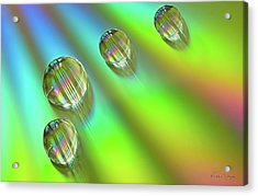 Mini Rainbows Acrylic Print