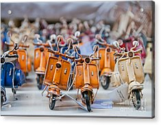 Mini Scooters Acrylic Print