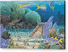 Mini Season Re0017 Acrylic Print by Carey Chen