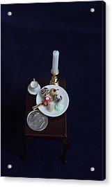 Miniatures O O A K Acrylic Print by David Bearden