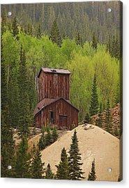 Mining Building In Colorado Acrylic Print