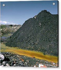 Mining Waste Acrylic Print
