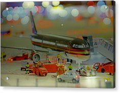 Miniture Wonderland Acrylic Print