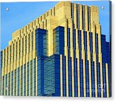 Minneapolis Blue II Acrylic Print