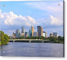 Minneapolis On River3 Acrylic Print