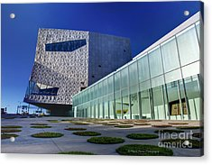 Minneapolis Skyline Photography Walker Art Museum Acrylic Print