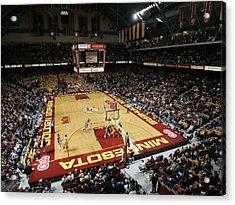 Minnesota Golden Gophers Williams Arena Acrylic Print by Replay Photos