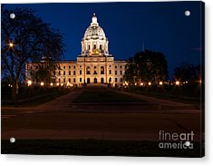 Minnesota State Capitol Acrylic Print by Kevin Jack