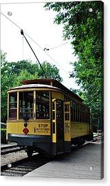 Minnesota Streetcar Museum Acrylic Print