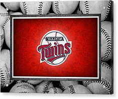 Minnesota Twins Acrylic Print by Joe Hamilton