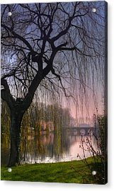 Minnewater Lake Bruges Acrylic Print