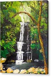 Minnumurra Falls Acrylic Print