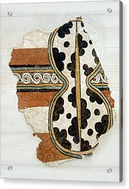 Minoan Livestock Painting Acrylic Print by Ellen Henneke
