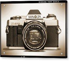 Minolta X-370 Acrylic Print