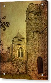 Minster Abbey And Gatehouse Acrylic Print by Dave Godden