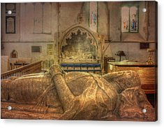 Minster Abbey Interior Acrylic Print by Dave Godden