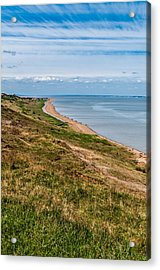 Minster Leas On The Isle Of Sheppey Acrylic Print by Paul Donohoe