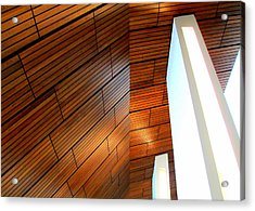 Mint Ceiling 1 Acrylic Print by Randall Weidner