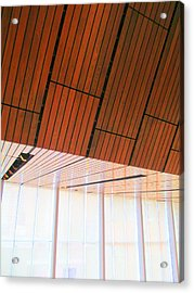 Mint Ceiling 2 Acrylic Print by Randall Weidner