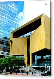 Mint Museum Charlotte Acrylic Print by Randall Weidner