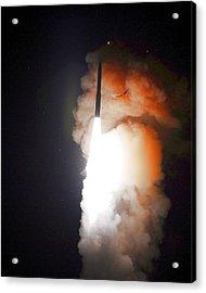 Minuteman IIi Missile Test Acrylic Print