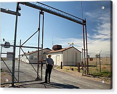 Minuteman Missile Launch Site Acrylic Print by Jim West