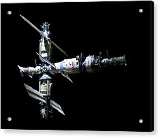 Mir Space Station Acrylic Print by Babak Tafreshi