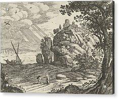 Miraculous Fishing, Willem Van Nieulandt II Acrylic Print by Artokoloro