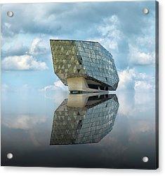 Mirage Acrylic Print by Greetje Van Son