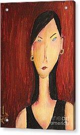 Miranda Acrylic Print by Melanie Dix
