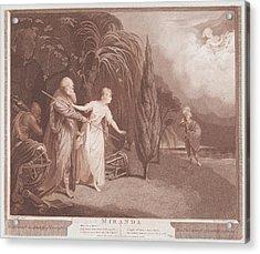 Miranda Shakespeare, The Tempest, Act Acrylic Print