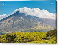 Miravalles Volcano Acrylic Print by Christina Klausen