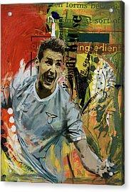 Miroslav Klose Acrylic Print by Corporate Art Task Force