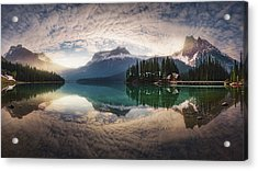 Mirror Emerald Acrylic Print