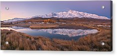 Mirror For Mountains 2 Acrylic Print