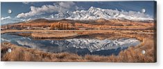 Mirror For Mountains 3 Acrylic Print