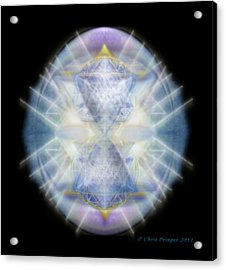 Mirror Healing The Polarities Within Acrylic Print