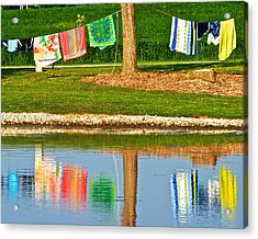Mirror Image Acrylic Print by Frozen in Time Fine Art Photography